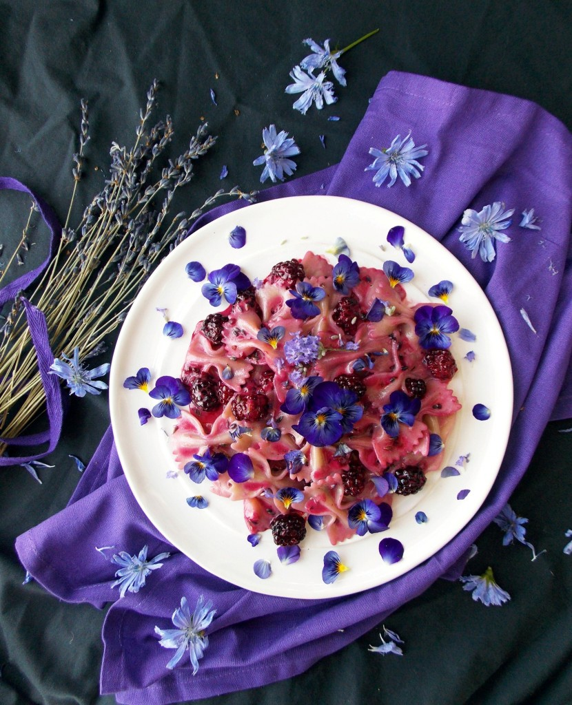 Blackberry Lavender Pasta (2)
