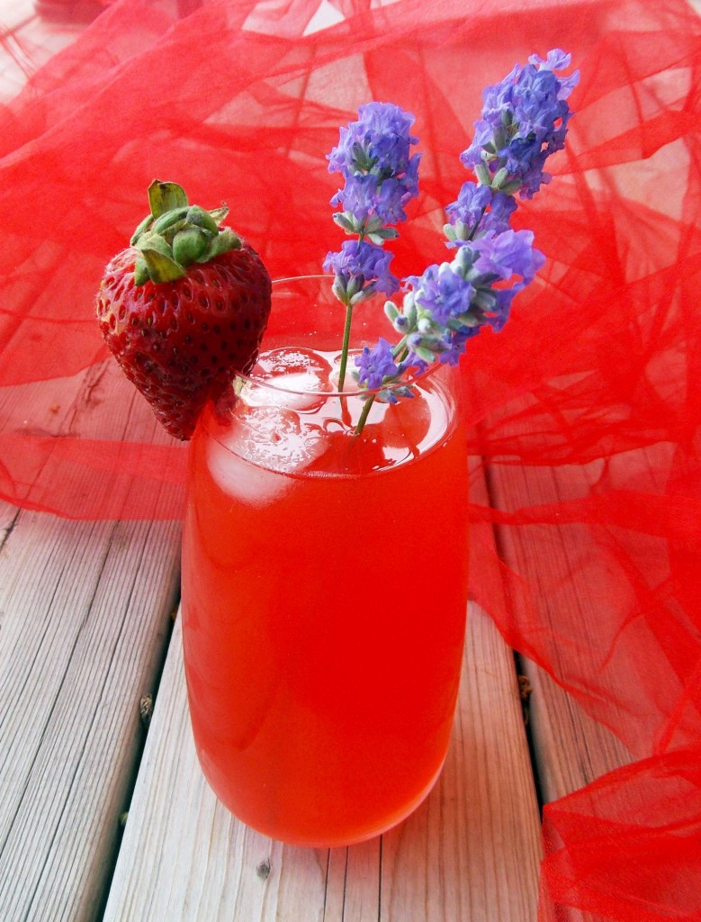 Strawberry Lavender Lemonade (4)