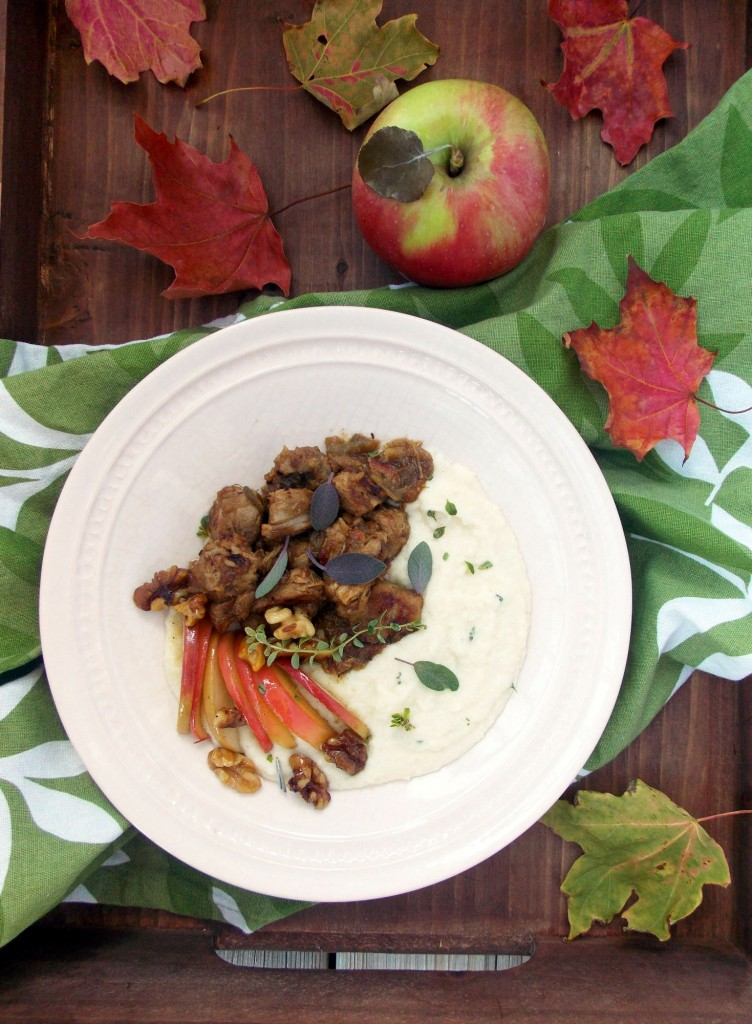 Apple Sage Pork Stew | Havocinthekitchen.com