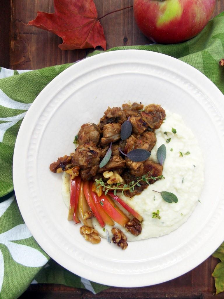 Apple Sage Pork Stew | Havocinthekitchen.com