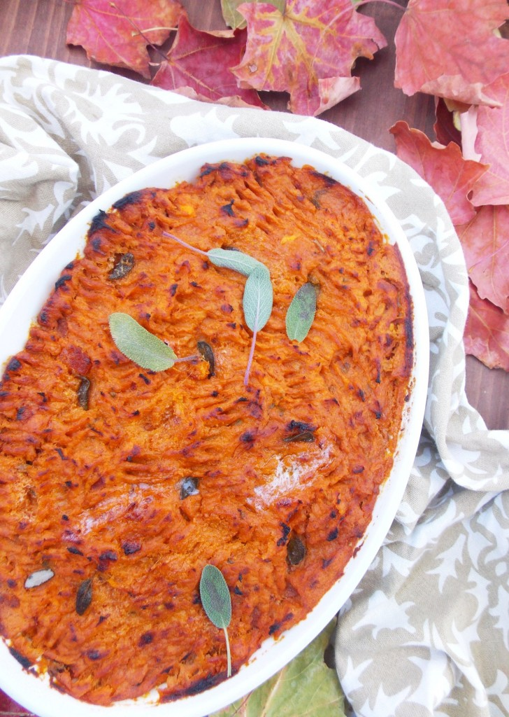 Sweet Potato Mash Bake | Havocinthekitchen.com