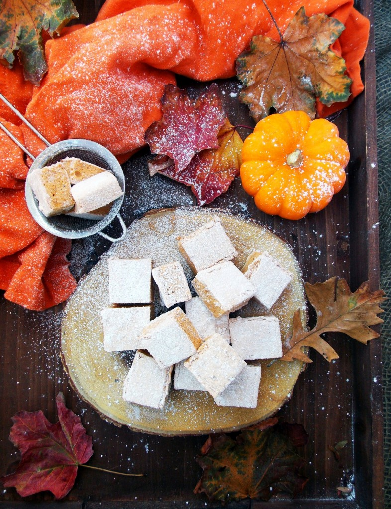 Pumpkin Marshmallows|Havocinthekitchen.com