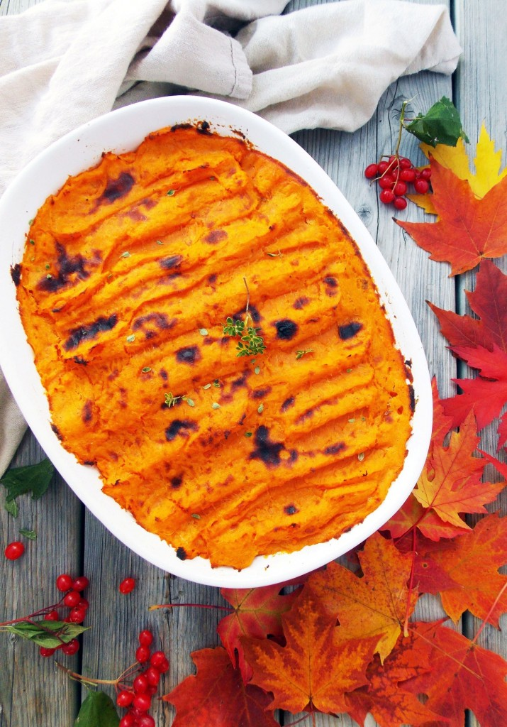 Sweet Potato Turkey Shepherd's Pie|Havocinthekitchen.com