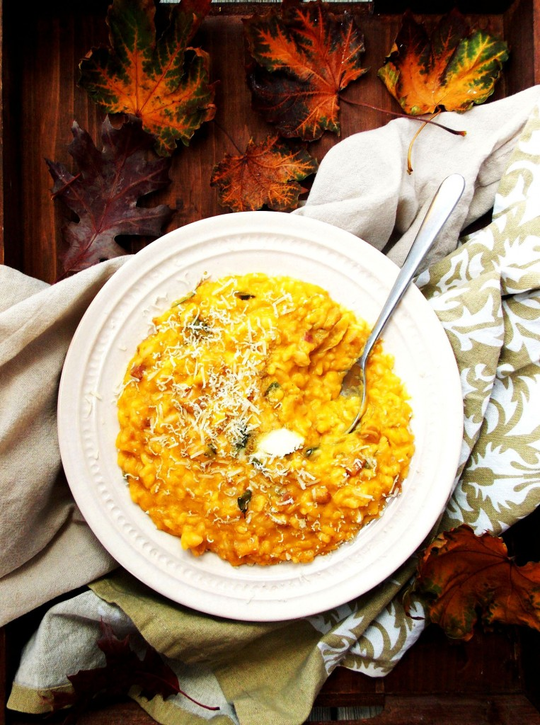Butternut Squash Risotto|Havocinthekitchen.com