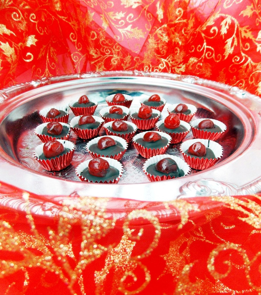 Chocolate Cherry Cups (11)