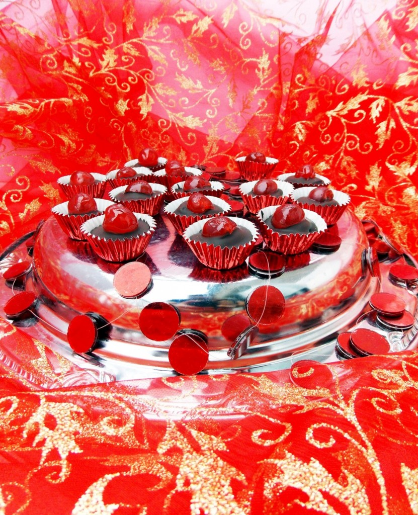 Chocolate Cherry Cups (4)