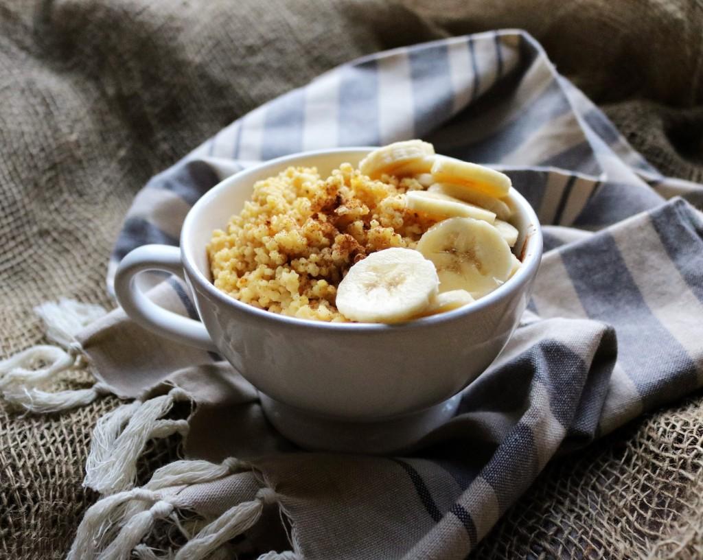 Maple Cinnamon Millet Porridge|Havocinthekitchen.com