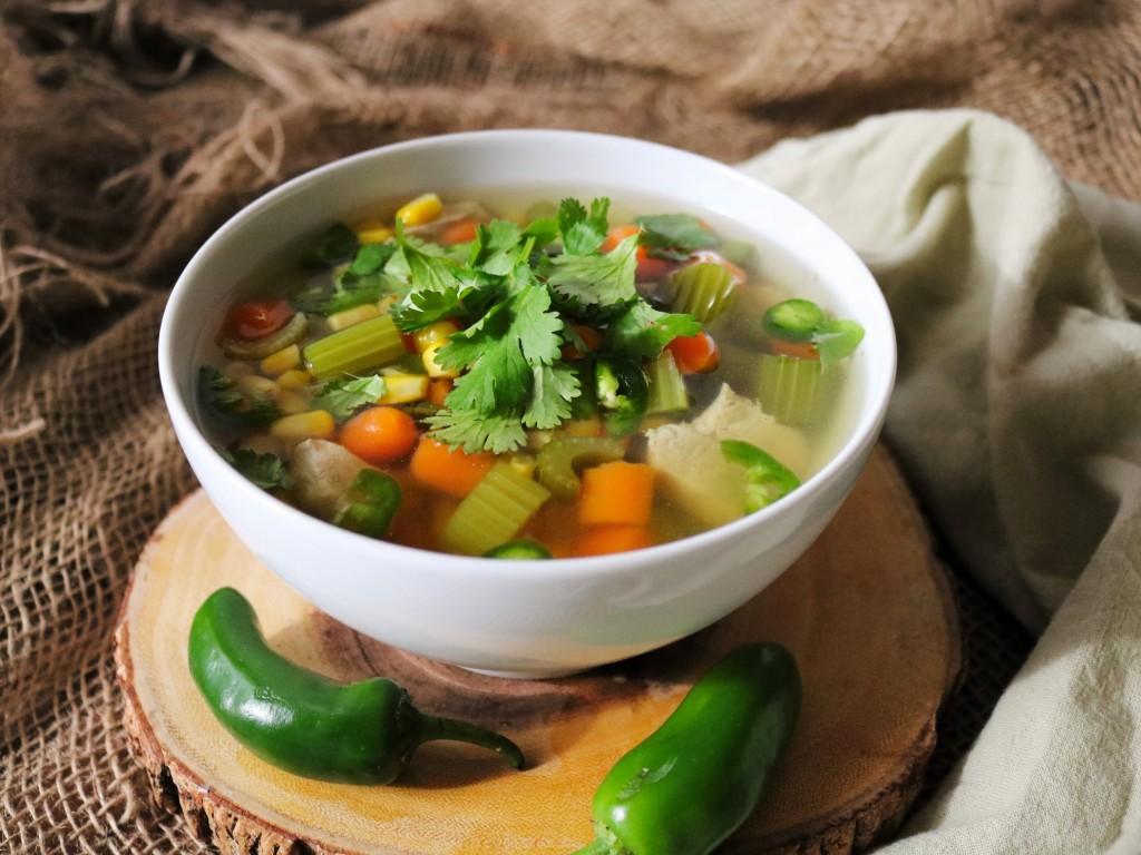 Chicken Vegetable Soup Havocinthekitchen.com