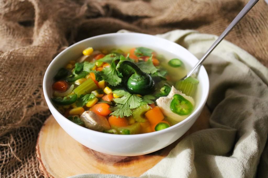 Chicken Vegetable Soup|Havocinthekitchen.com