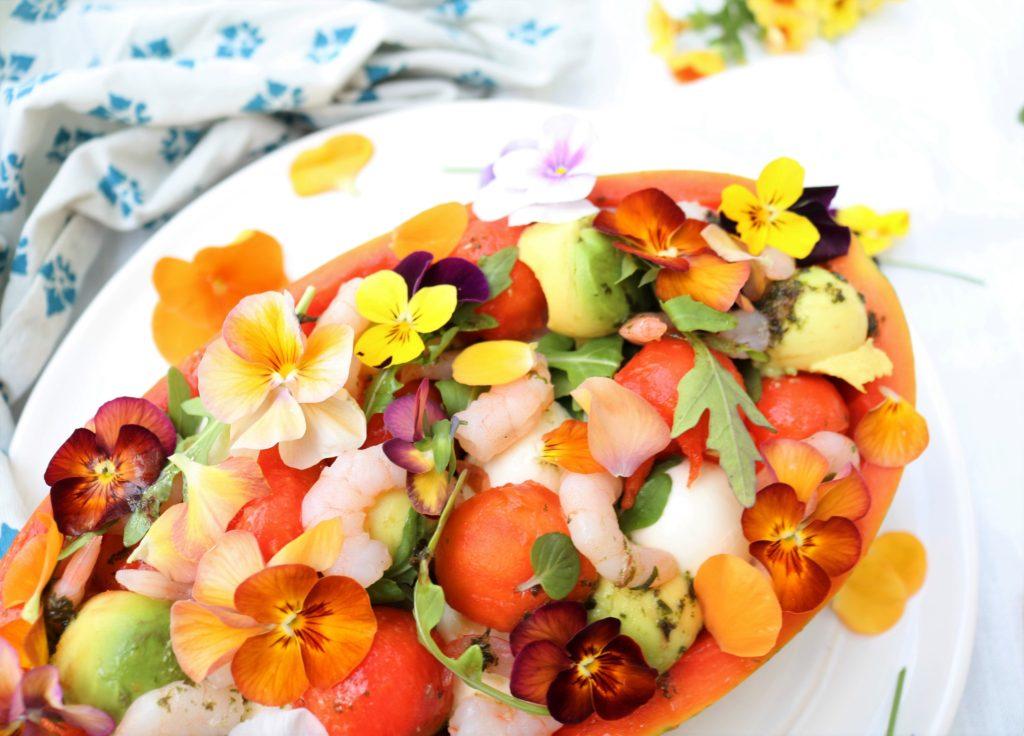 Papaya Salad Boat Havocinthekitchen.com