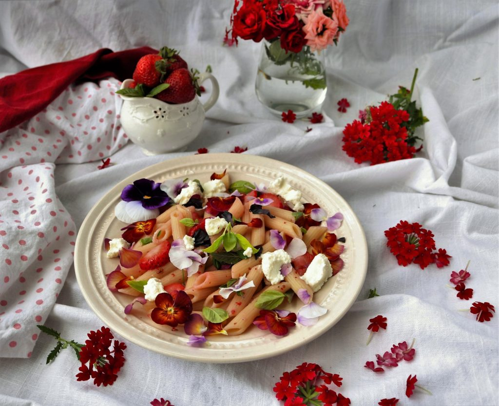 Strawberry Basil Ricotta Pasta|Havocinthekitchen.com