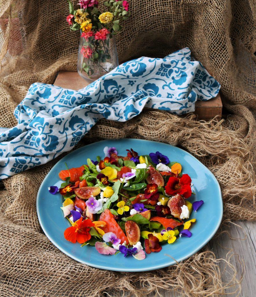 Fig Avocado Smoked Salmon Salad Havocinthekitchen.com