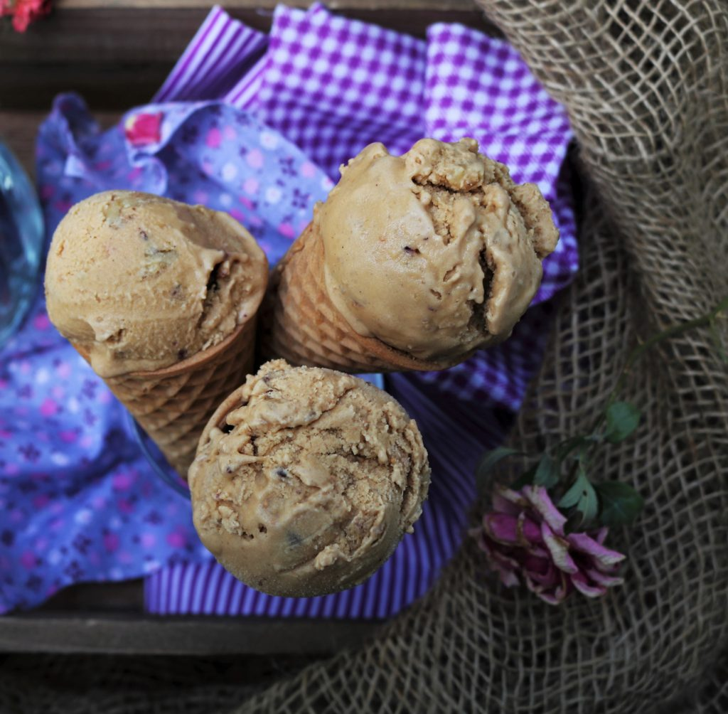 Cardamom Coffee Fig Ice Cream|Havocinthekitchen.com