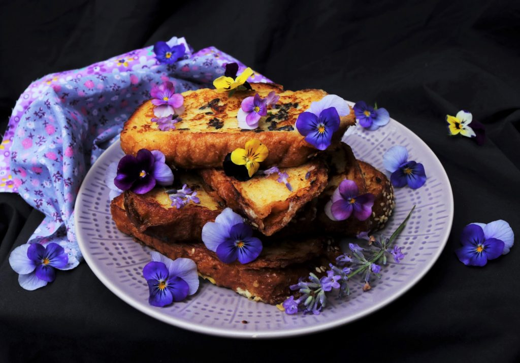 Lavender Maple French Toasts|Havocinthekitchen.com