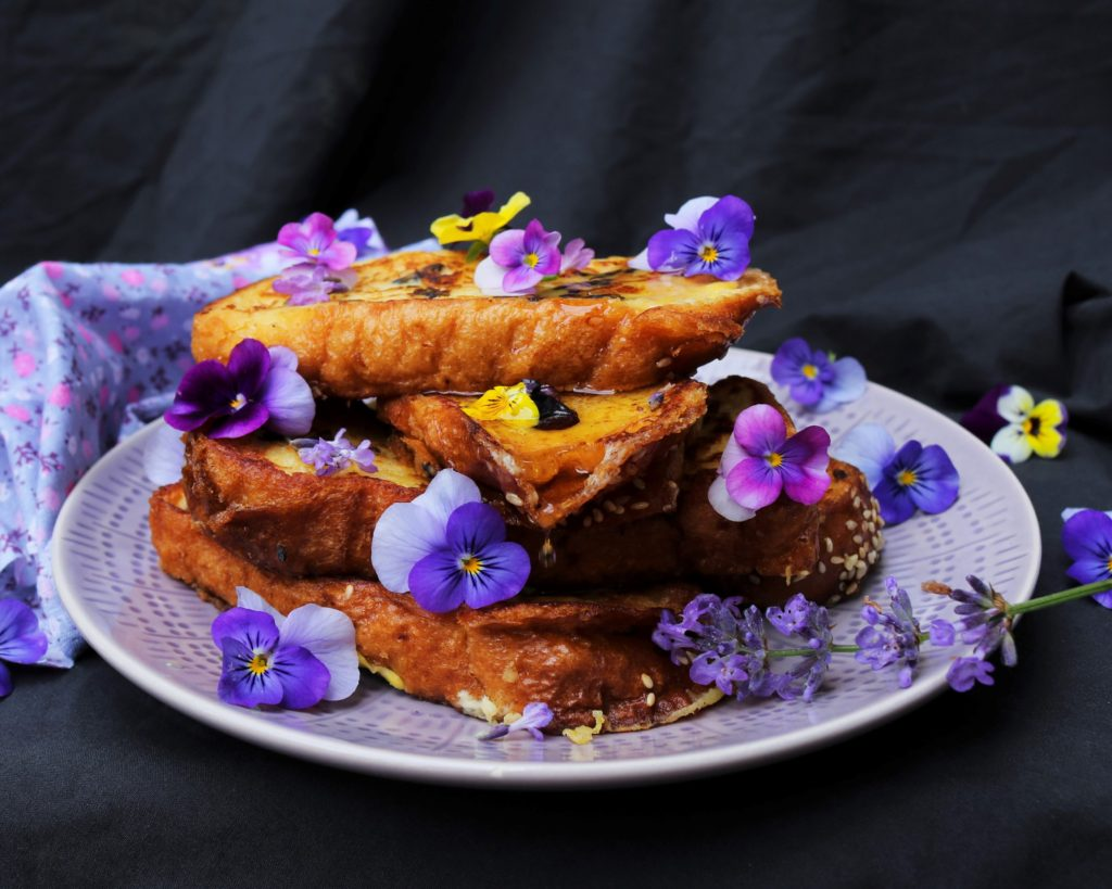 Lavender Maple French Toasts|Havocinthekitchen.com