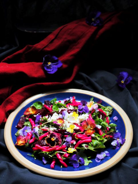 Roasted Beetroot Pasta Salad|Havocinthekitchen.com
