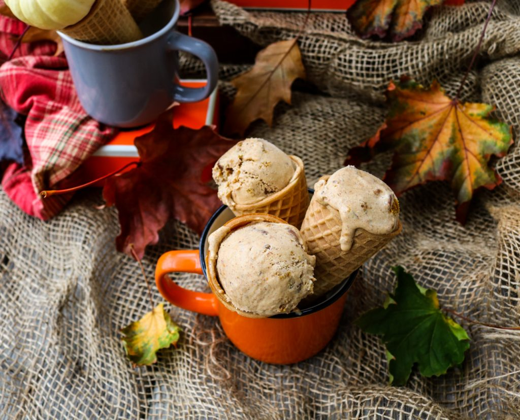 Pumpkin Dulce De Leche Ice Cream|Havocinthekitchen.com