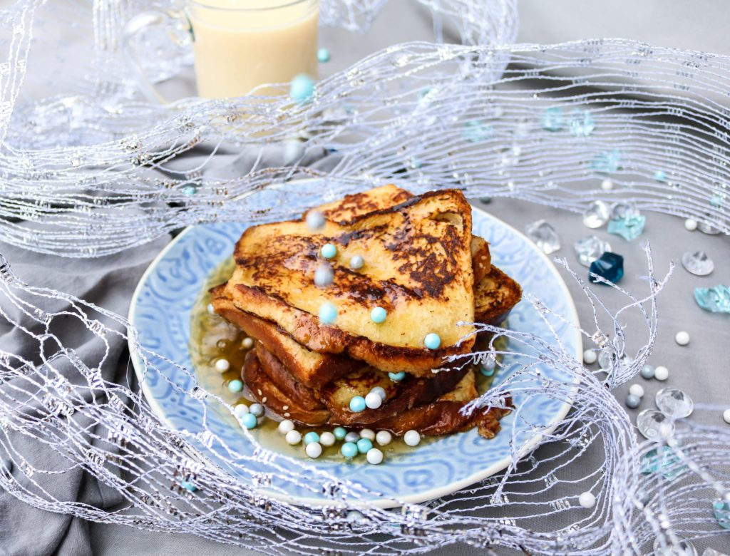 Maple Brandy Eggnog French Toasts|Havocinthekitchen.com