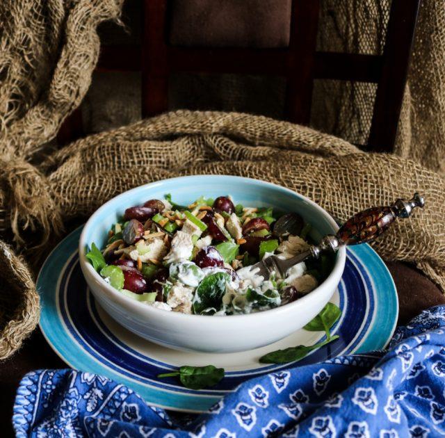 Chicken Celery Grape Salad|Havocinthekitchen.com