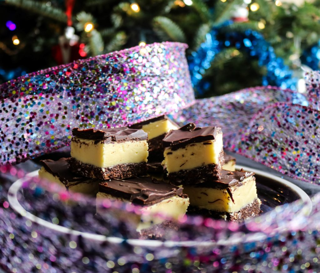 Irish Cream Nanaimo Bars|Havocinthekitchen.com