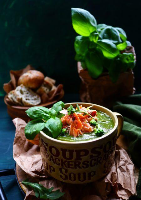 Broccoli Trout Soup