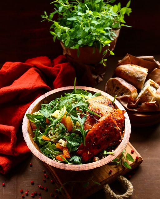 Couscous Trout Salad
