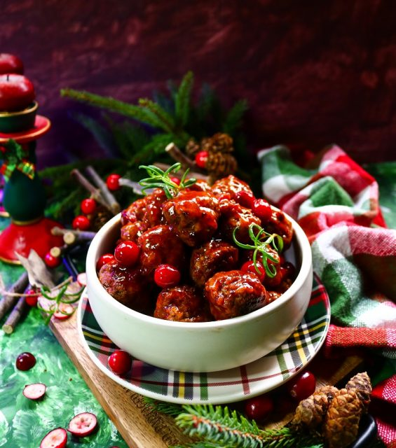 Cranberry Barbecue Meatballs