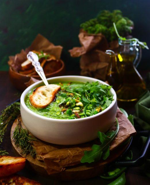 Creamy Green Soup
