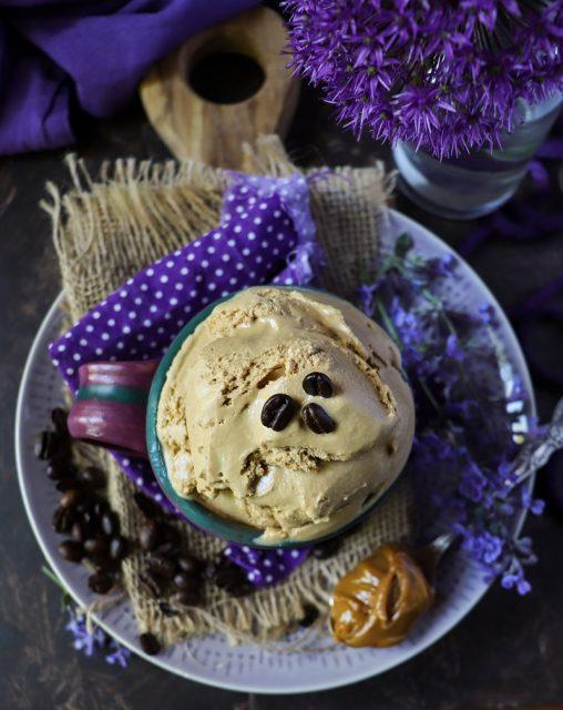 Dulce De Leche Coffee Ice Cream