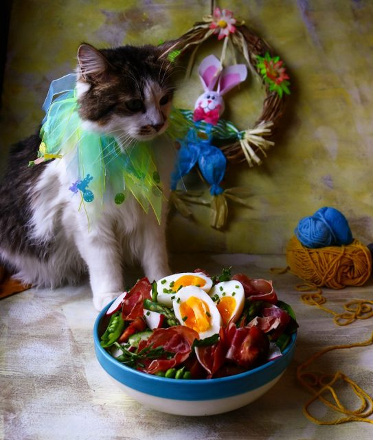 Easter Green Salad