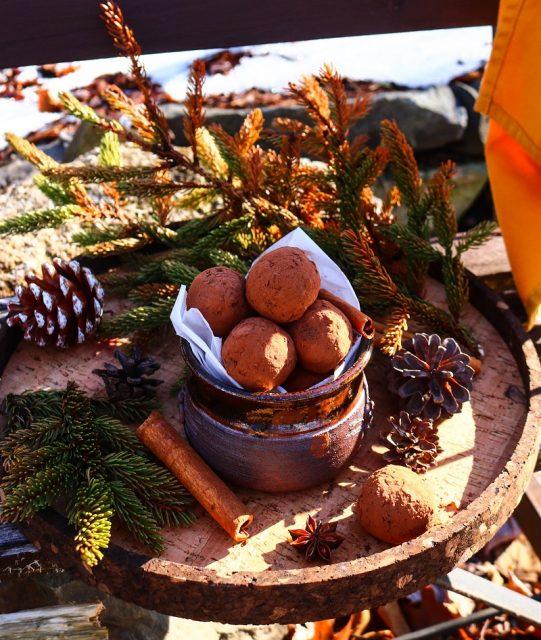 Raw Prune Walnut Truffles