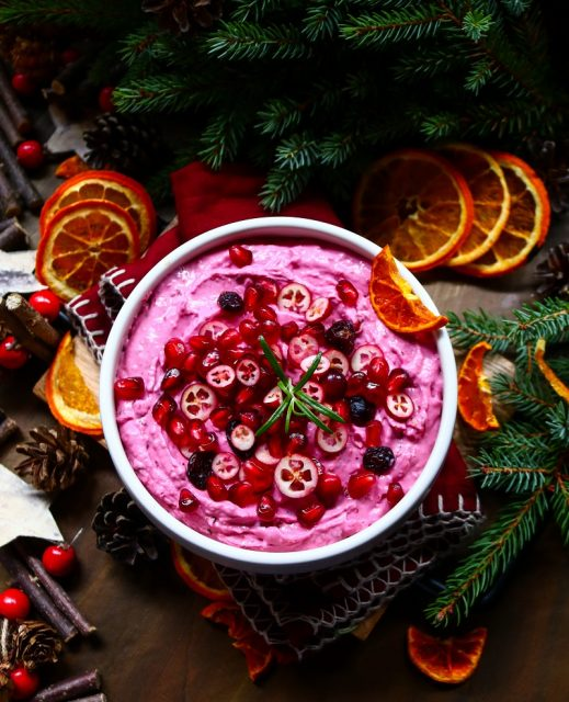 Cranberry Goat Cheese Spread