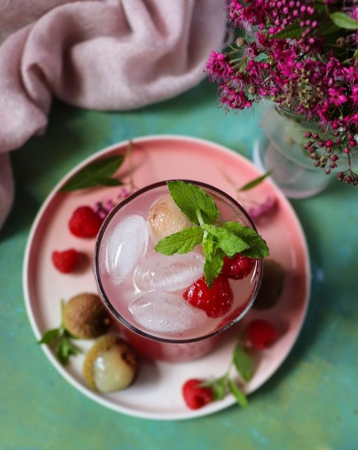 Ispahan Mocktail