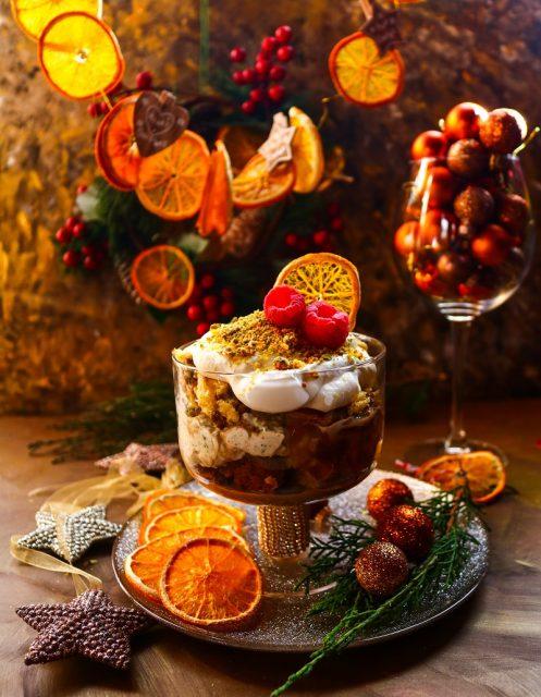 Pistachio Panettone Trifle