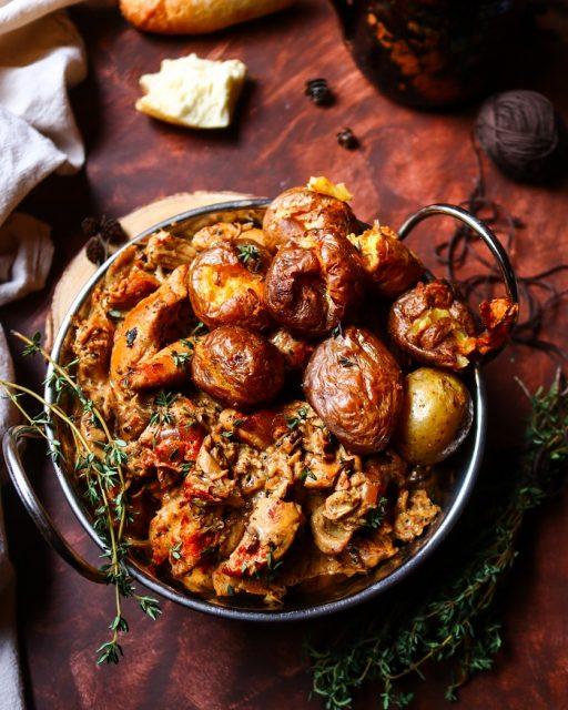 Porcini Mushroom Chicken Skillet