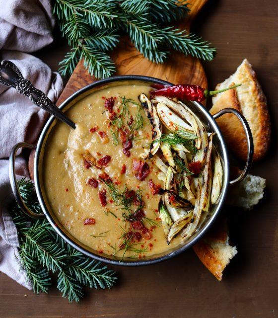 Potato Fennel Bacon Soup