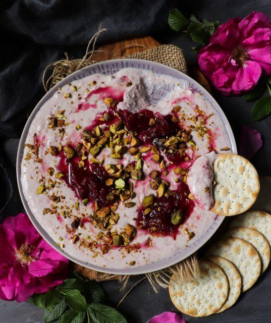 Rose Jam Goat Cheese
