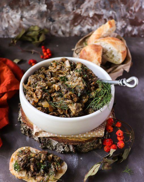 Wild Mushroom Caviar
