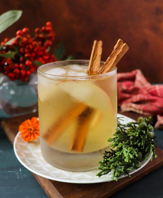 Apple Cider Rum Cocktail