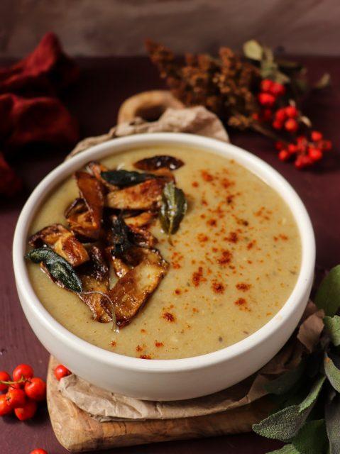 Porcini Mushroom Potato Soup
